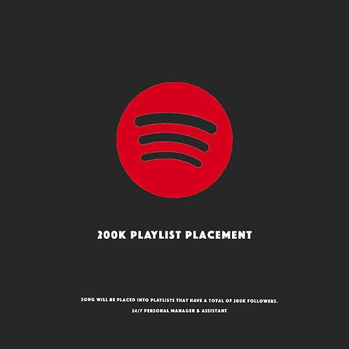 200K Playlists Placement