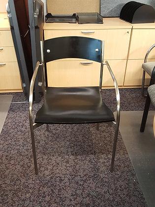 vintage bernhardth design mid century modern guest chairs