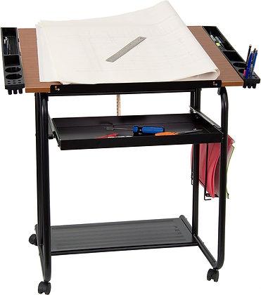 adjustable angle drawing and drafting table
