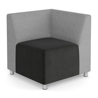 integrate collection corner chair with back
