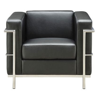 madison reception seating collection black or white club chairs