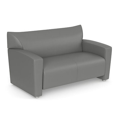 tribeca collection black or gray loveseat
