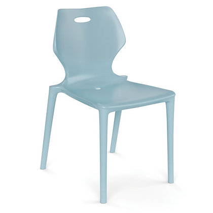 hamilton collection blue plastic stack chairs