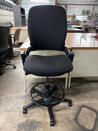 Steelcase leap V2 ergonomic drafting stools