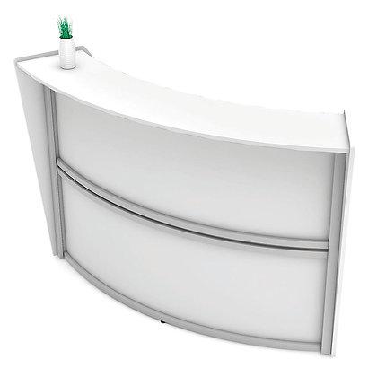 vortex collection all laminate expandable reception desk main unit
