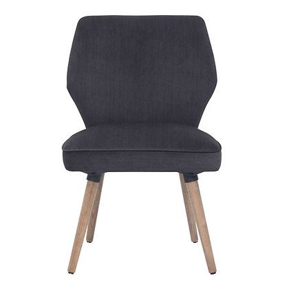heritage reception seating collection dark gray fabric guest chairs