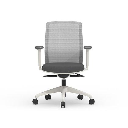 cherryman atto ergonomic task chairs white