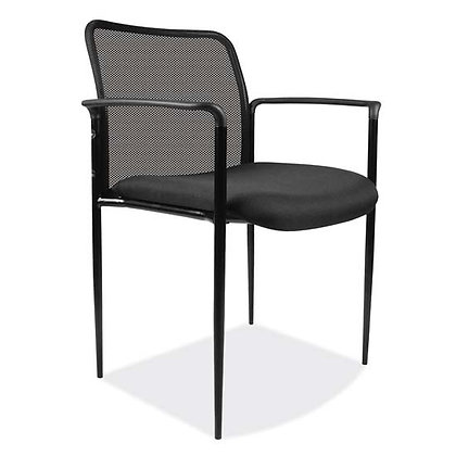 roster collection mesh back guest stack chairs