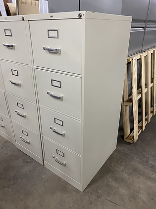 Hon 4 drawer vertical file cabinets
