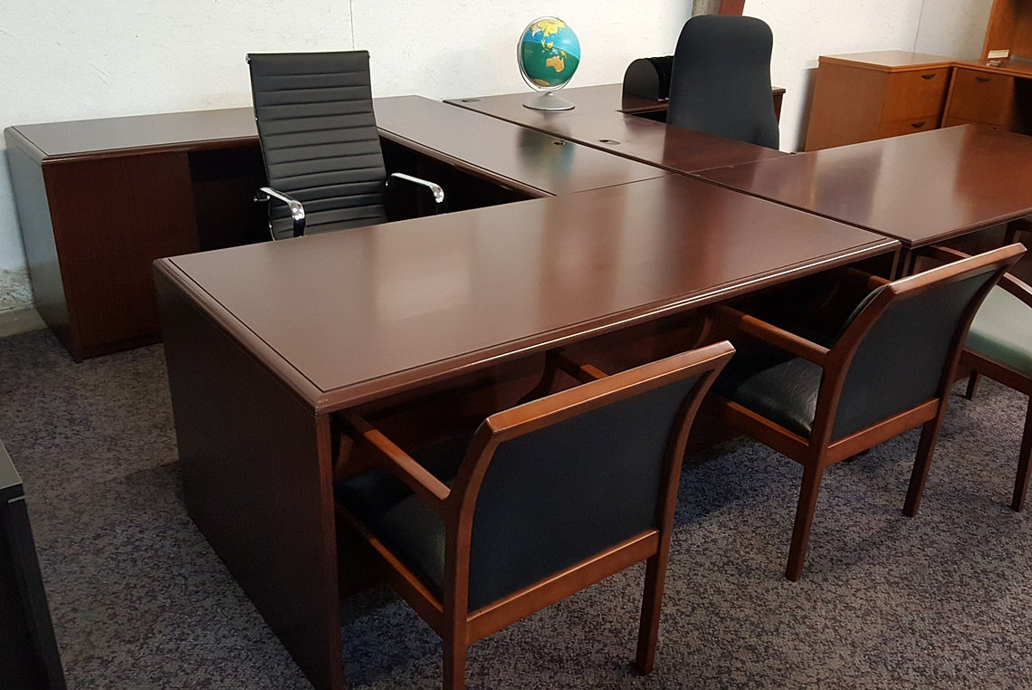 Used office chairs picture used office furniture nj discount used office furniture nj used - Used office desk for sale ...