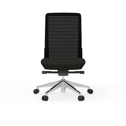cherryman eon ergonomic armless chairs black
