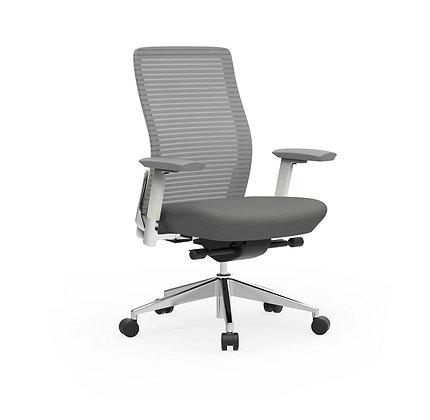Cherryman eon ergonomic task chair white