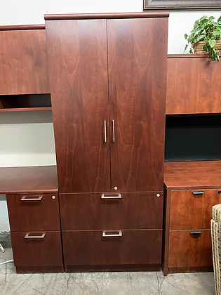 Steelcase wood solutions combination cabinets