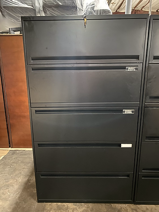 Office Specialty 5 drawer lateral file cabinets