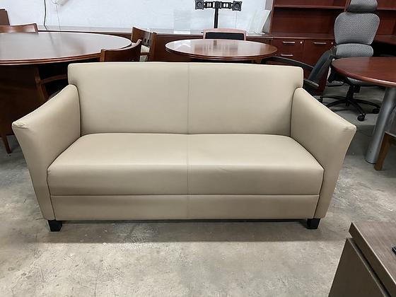 Geiger leather sofa