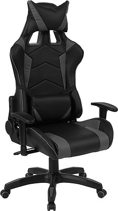 black gaming chairs