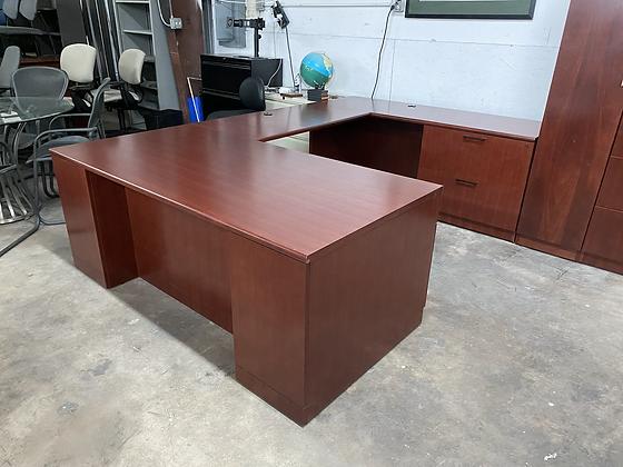 Steelcase executive U shaped desk
