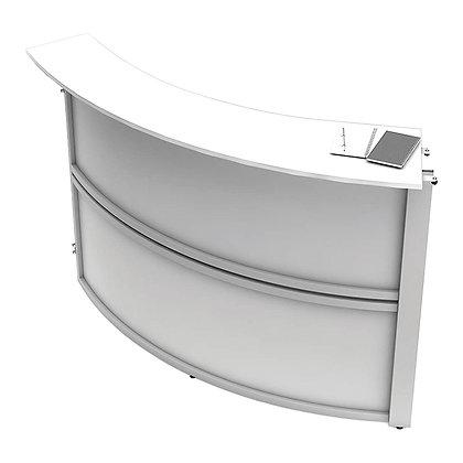 Vortex collection All laminate expandable reception desk add-on unit