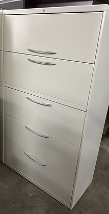 Hon 5 drawer lateral file cabinets