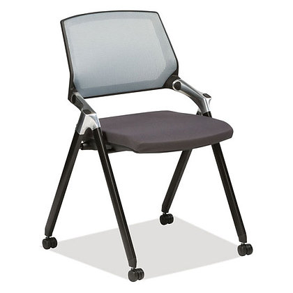 triumph collection armless flex back nesting chairs