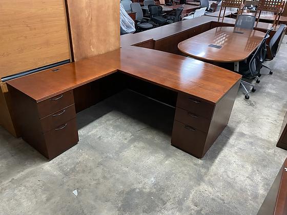 OFS executive L shaped desk