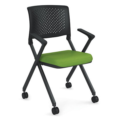 julep collection nesting chairs with plastic back