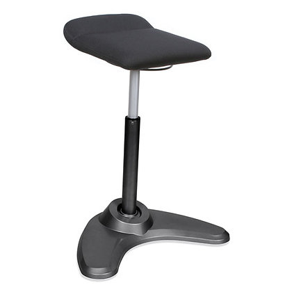 Sit to stand stools for adjustable height tables