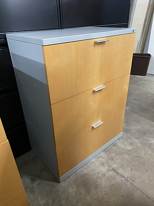 Herman Miller lateral file cabinets