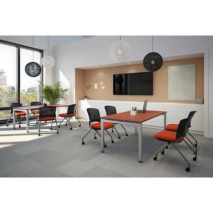 multi pourpose 2ea. 6' x 3' rectangular conference tables