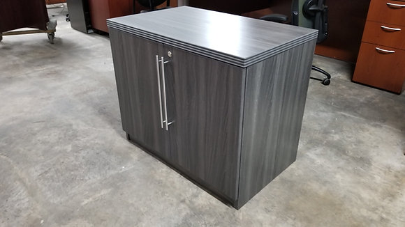 Status collection 2 door storage cabinets