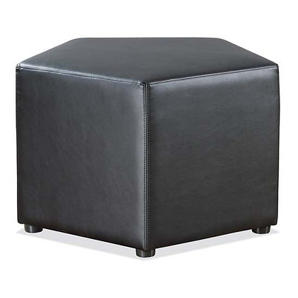 shapes collection modular lobby seating pentagon chair