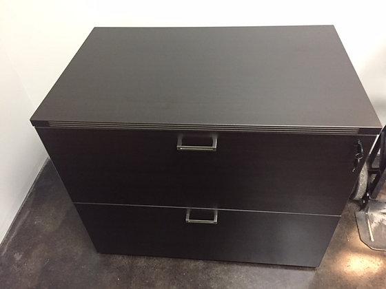 cherryman laminate 2 drawer lateral file cabinets in dark espresso finish