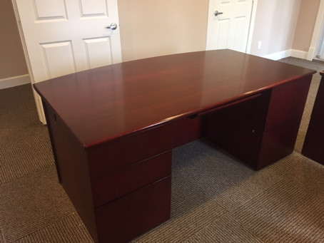 Executive Desk and credenza sets