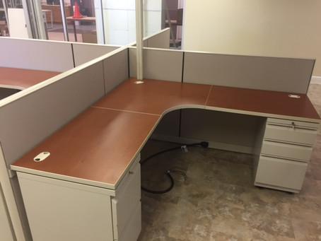 Allsteel Optimize cubicles