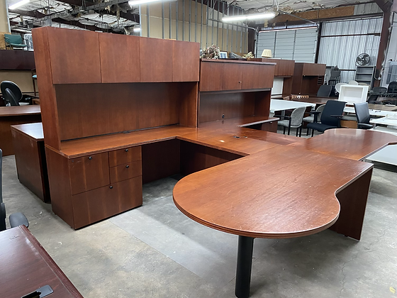 First office executive U shaped desk