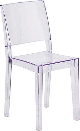 Phantom series transparent guest chairs