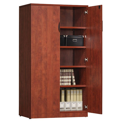 """OS laminate collection 65.5"""" height 2 door storage cabinets"""