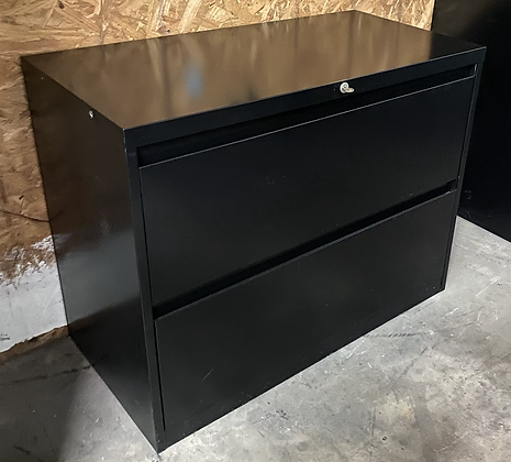 Steelcase 900 series 2 drawer lateral file cabinets