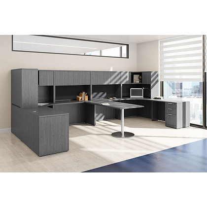 os laminate collection shared office desk typical os173