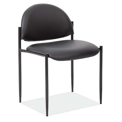 Roster collection armless stack chairs