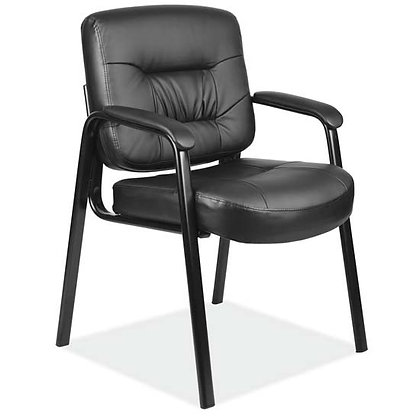 advantage collection black vinyl executive chairs with black metal frames