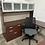 Thumbnail: Teknion modular U shaped desks with hutch