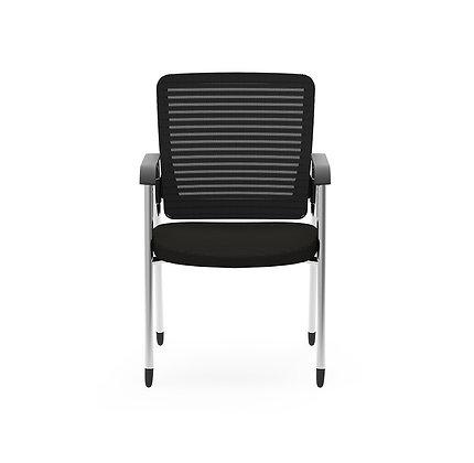 cherryman eon mesh back ergonomic guest chair black