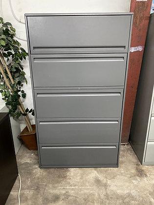 Haworth lateral file cabinets