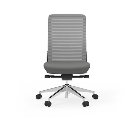 Cherryman EON armless task chairs white