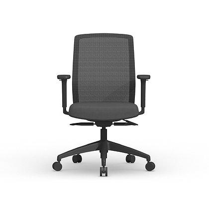 cherryman atto ergonomic chairs black