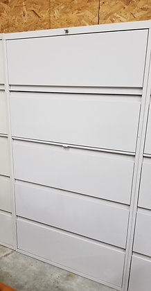 Steelcase 900 series 5 drawer lateral file cabinets