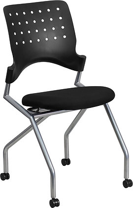 galaxy armless nesting training guest chairs