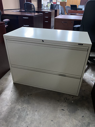 Global 2 drawer lateral file cabinet