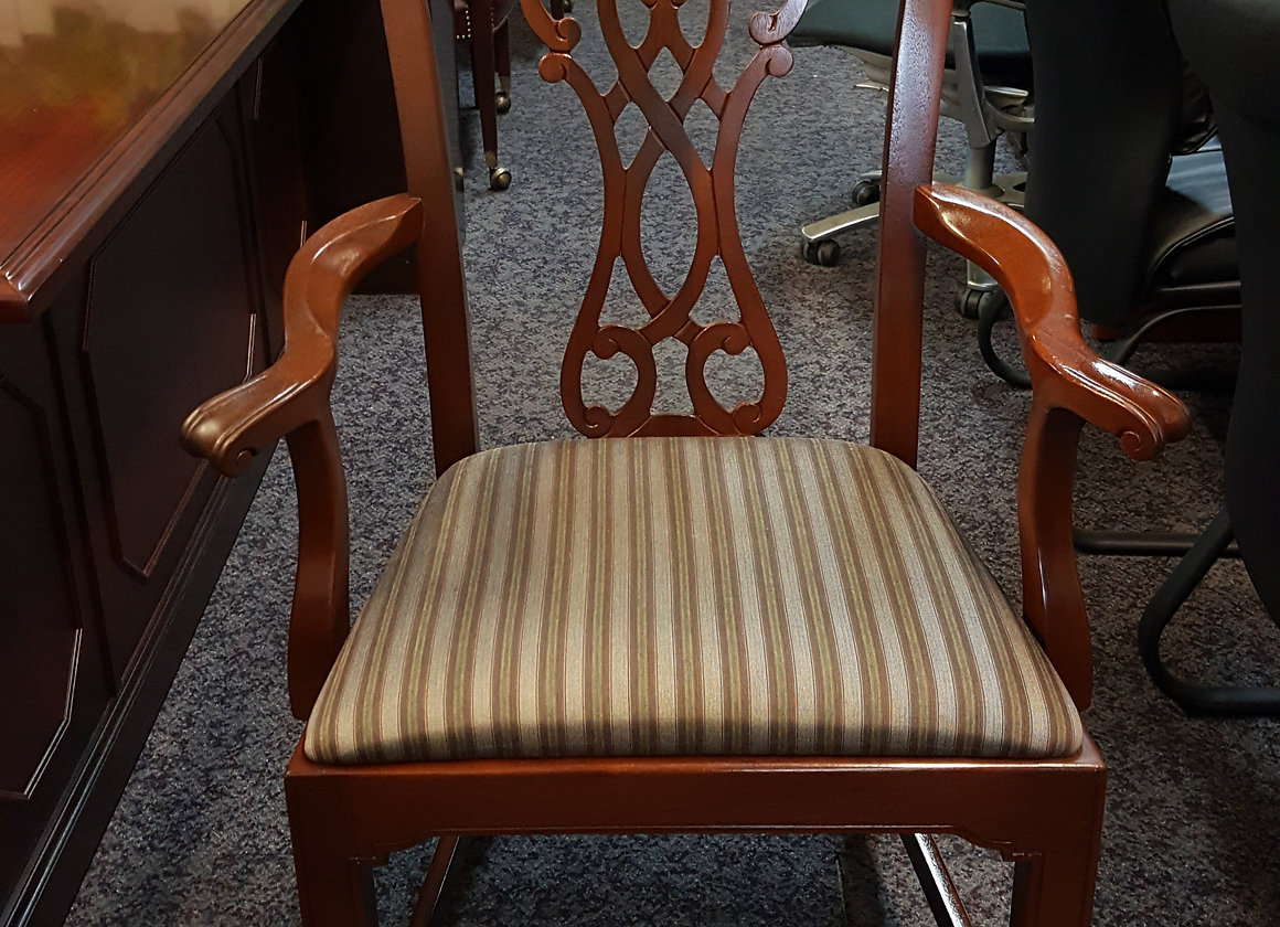 Bernhardt traditional guest chairs